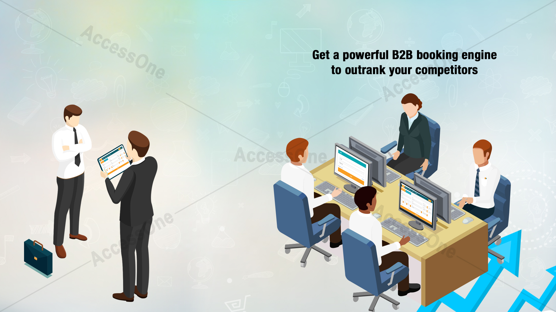 Get a powerful B2B booking engine to outrank your competitors